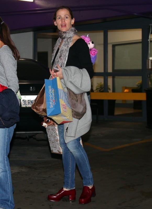 Jennifer Garner le 1er décembre 2012 à Westwood