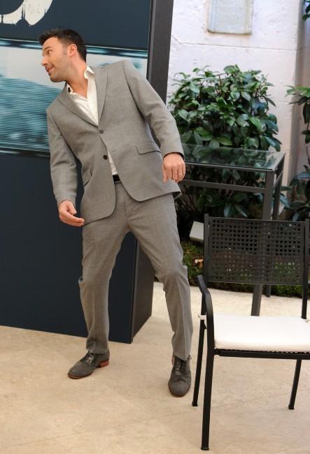 Ben Affleck le 19 octobre 2012 à Rome