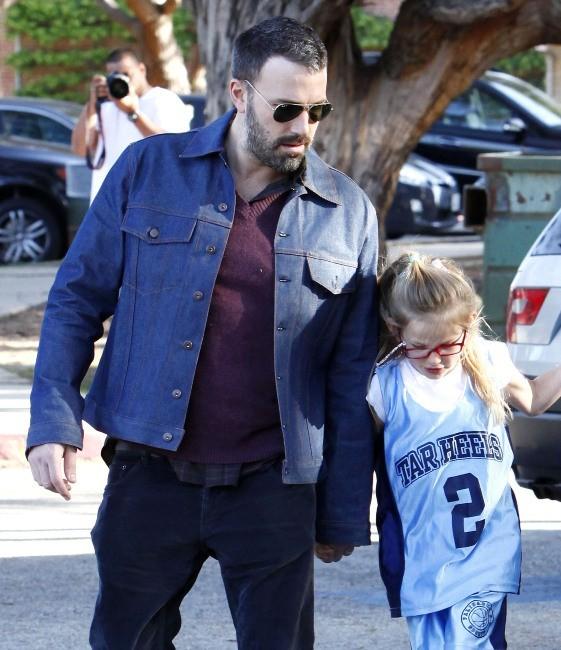 Ben Affleck, très proche de sa fille aînée