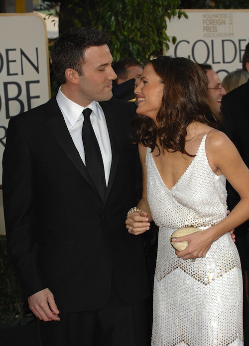 Ben Affleck et Jennifer Garneraux Golden Globes en 2007