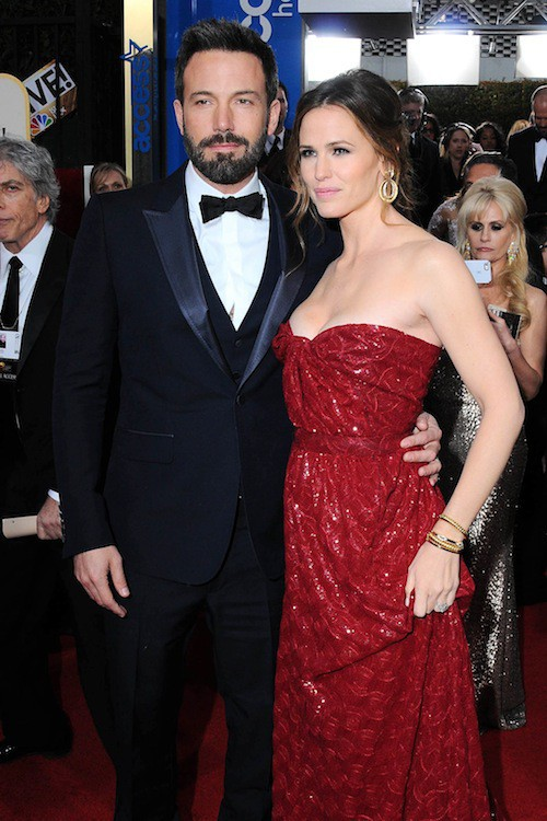 Ben Affleck et Jennifer Garneraux Golden Globes en 2013