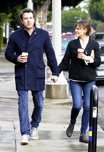 Ben Affleck et Jennifer Garner à Los Angeles le 29 novembre 2013