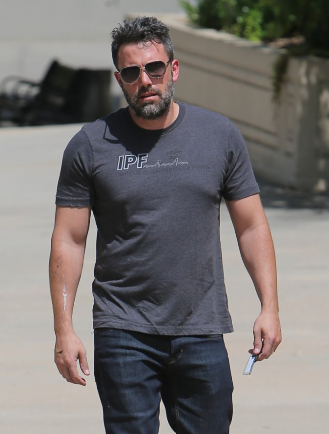 Ben Affleck : Il porte à nouveau son alliance !