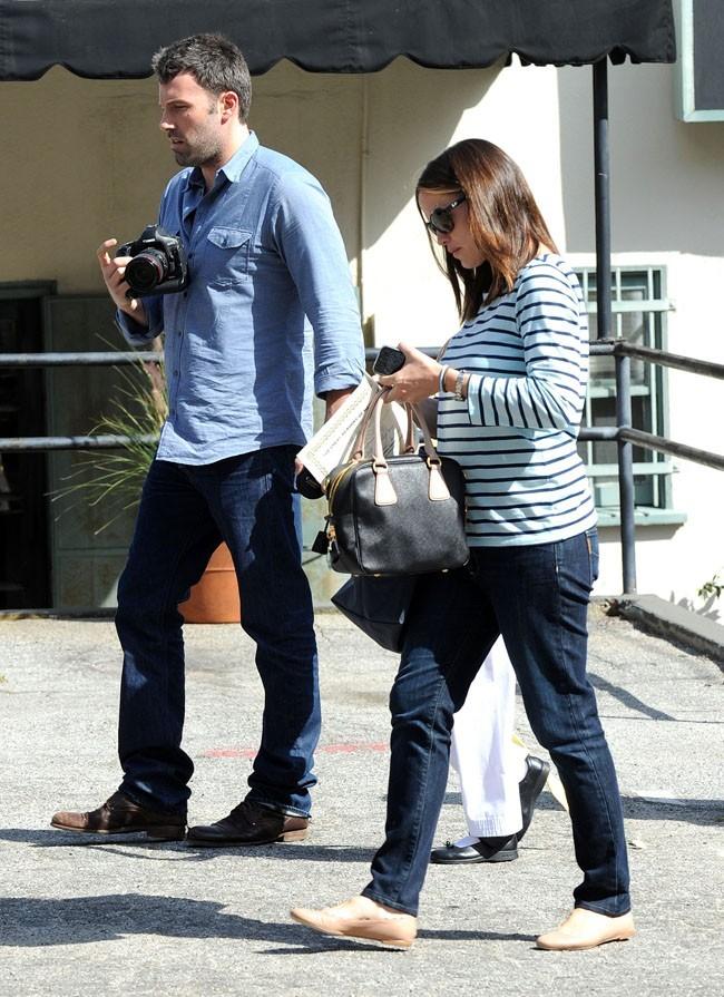 Ben Affleck et Jennifer Garner le 11 mai 2012 à Los Angeles