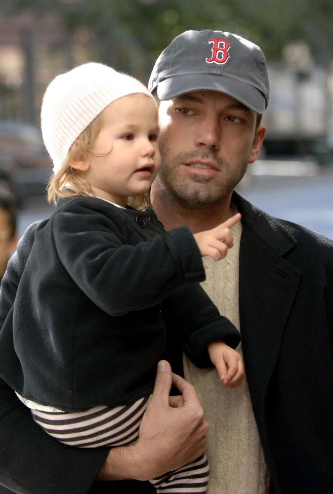 Photos : Ben Affleck et sa fille Violet en 2007