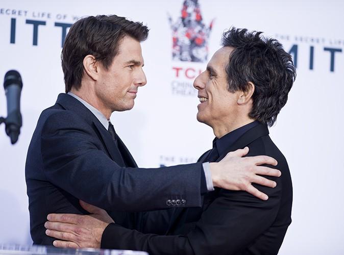 Tom Cruise et Ben Stiller à Los Angeles le 3 décembre 2013