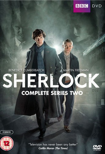 Benedict Cumberbatch dans la série Sherlock !