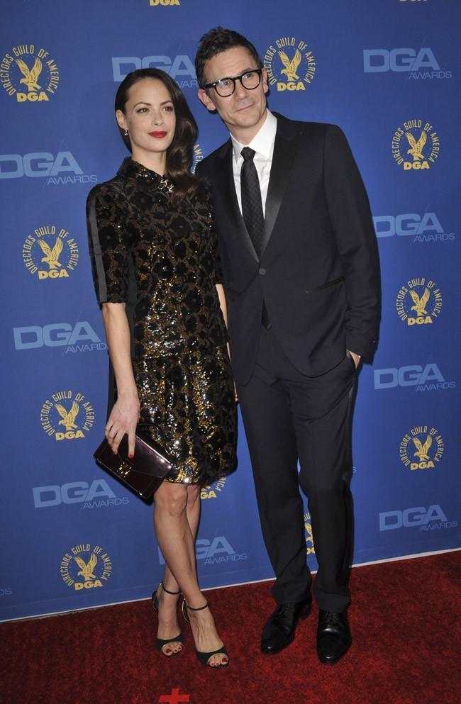 Bérénice Bejo et Michel Hazanavicius aux DGA Awards à Los Angeles le 2 février 2013