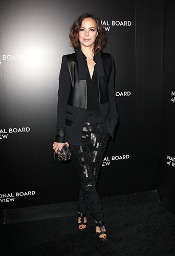 Bérénice Béjo à New-York le 7 janvier 2014