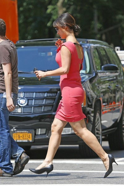 Bérénice Marlohe le 21 juin 2013 à New York