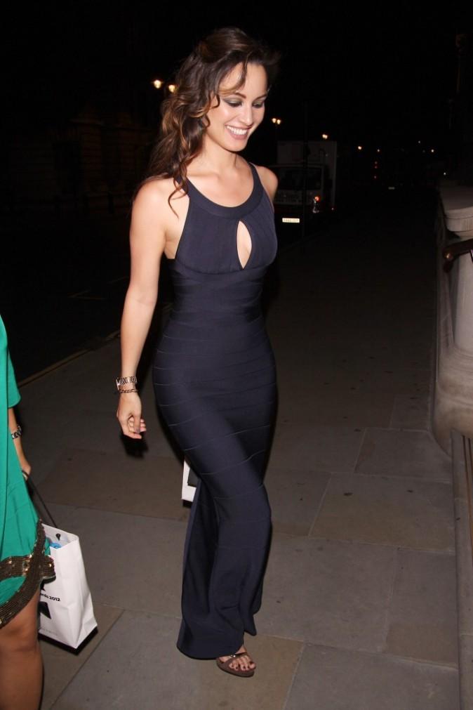 Bérénice Marlohe, Londres, 4 septembre 2012