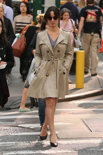 Bérénice Marlohe le 6 juin 2013 à New York