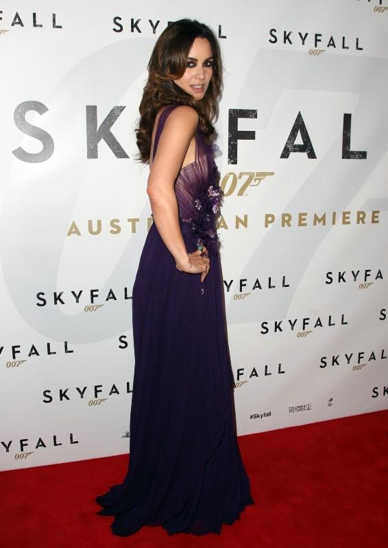 Berenice Marlohe le 16 novembre 2012 à Sydney