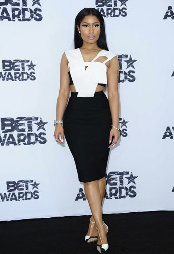 Nicki Minaj aux BET Awards, le 28 juin 2015 à Los Angeles