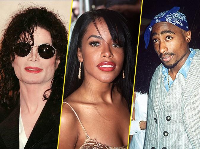 Michael Jackson, Aaliyah et Tupac