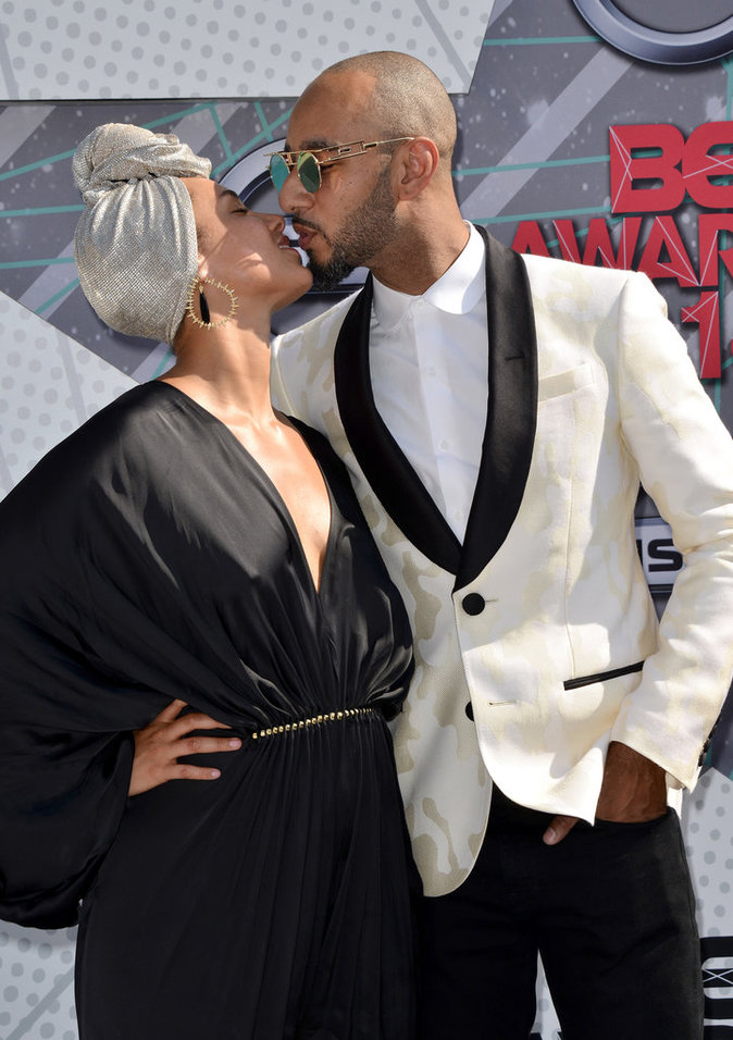 Photos : BET Awards 2016 : Alicia Keys et Swizz Beatz : l'amour sans fard !