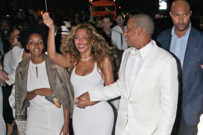 Beyoncé et Jay-Z au mariage de Solange Knowles