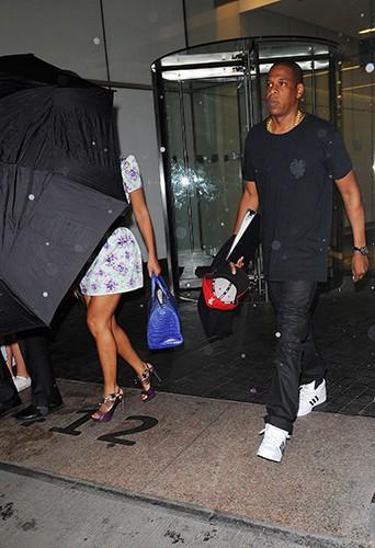 Beyoncé et Jay Z à New York le 30 mai 2014