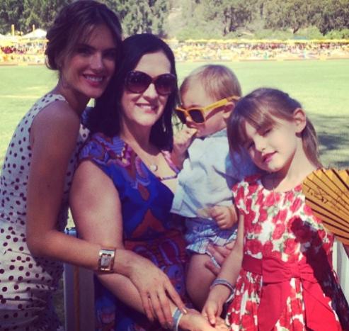 Alessandra Ambrosio en famille !