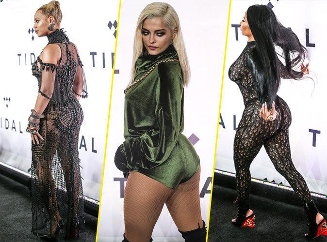 Beyonc�, Bebe Rexha, Nicki Minaj... Battle de fessiers � la soir�e Tidal !