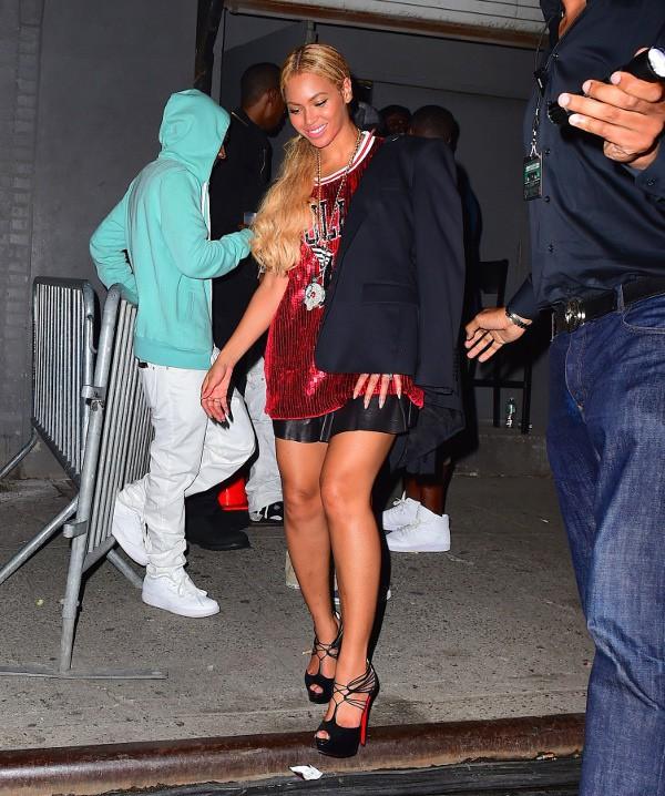 Beyoncé à New-York le 17 mai 2015