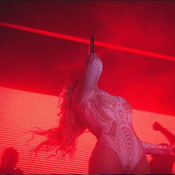 Beyoncé en concert le 4 septembre
