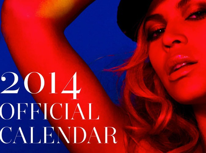 Photos : Beyoncé dévoile les premières images de son calendrier 2014 !