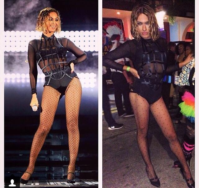 Beyoncé : elle compile tous les plus beaux looks d'Halloween de ses fans !