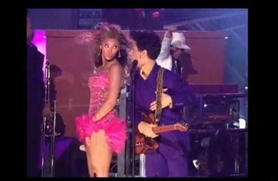 Elle a chanté avec Prince !