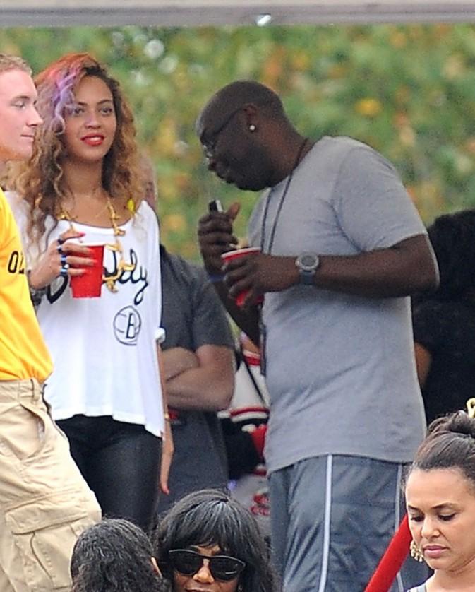 Beyoncé au Made In America festival à Philadelphie le 2 septembre 2012