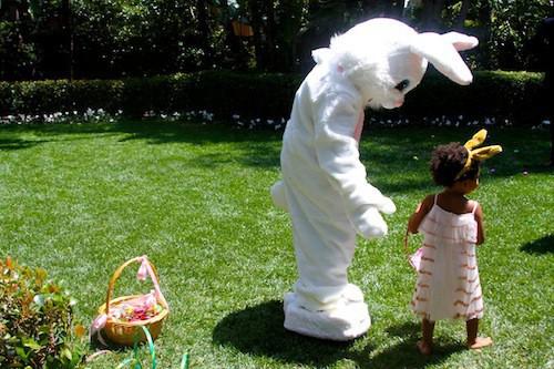 Photos: Beyoncé et Blue Ivy : la chasse aux œufs de Pâques, une histoire de famille !