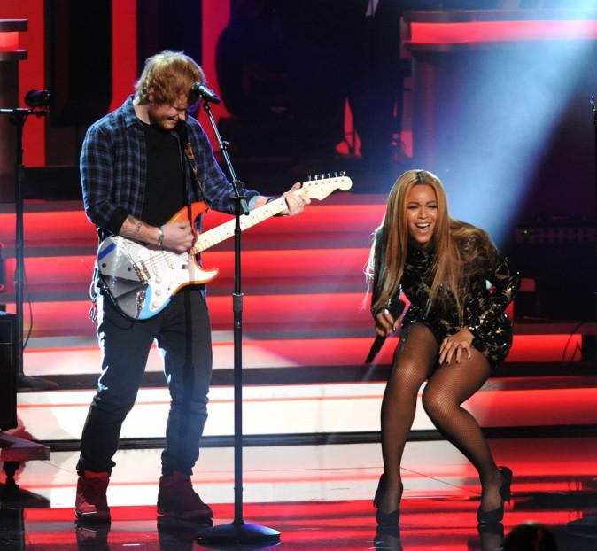 Photos : Beyoncé et Ed Sheeran : un duo de choc en hommage à Stevie Wonder !