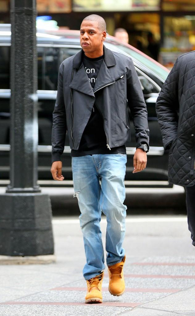 Jay-Z à New-York le 29 octobre 2014