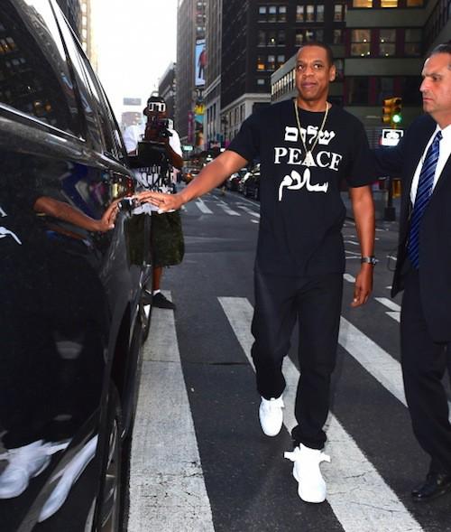 """Photos : Beyoncé et Jay-Z en mode """"peace""""… Pour leur nouvel album en duo ?"""