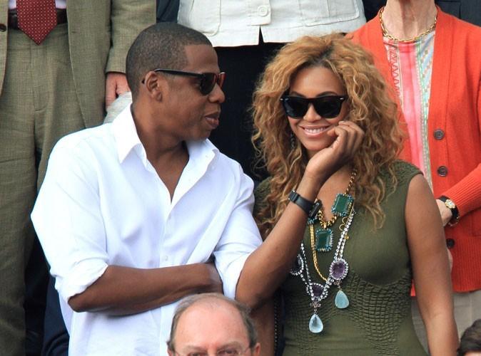 Photos : Beyoncé et Jay-Z à Roland Garros en 2010