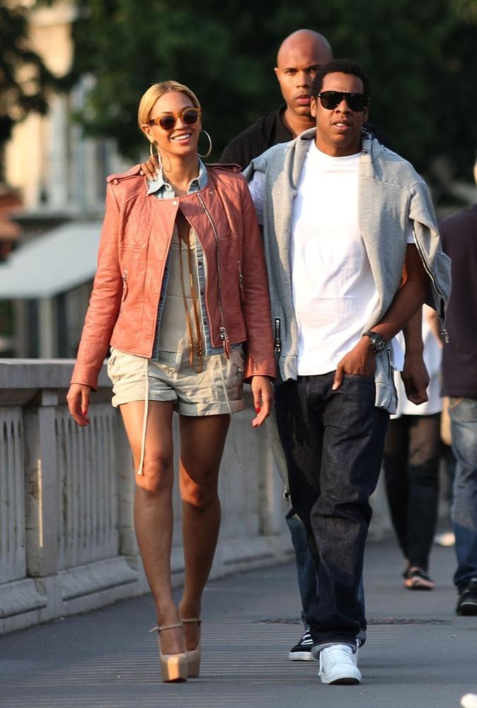 Photos : Beyoncé et Jay-Z en balade à Paris en 2011