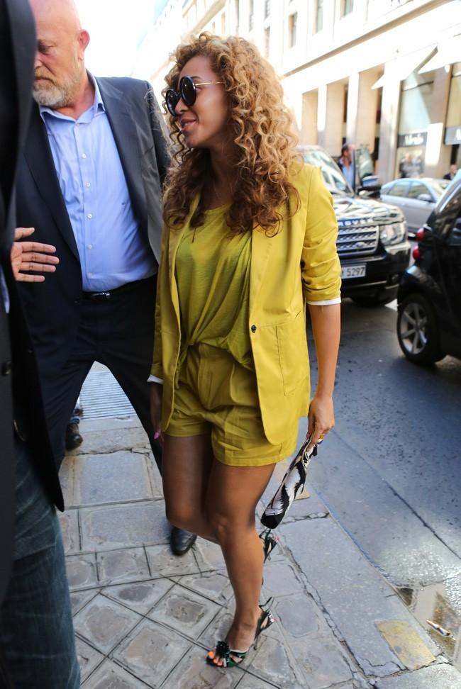 Beyonce, en mode petit canari !