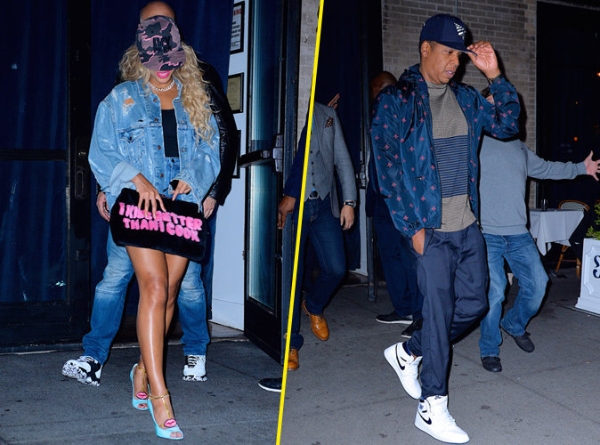Beyonc� et Jay-Z : ultra styl�s � New York, on adore !