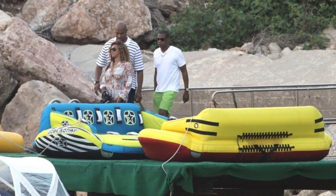 Jay Z et Beyoncé à Monaco le 6 septembre 2012