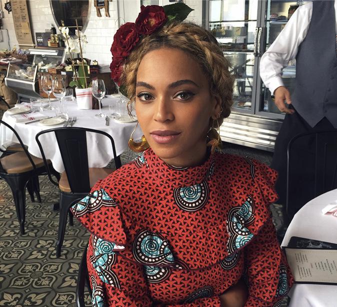 Beyoncé au restaurant
