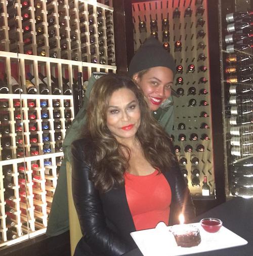 Photos : Beyoncé et Solange Knowles au naturel pour leur maman !
