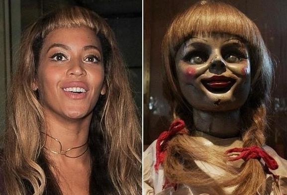 Beyoncé et Annabelle