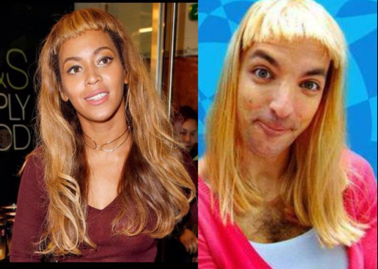 Beyoncé et Samntha Lo