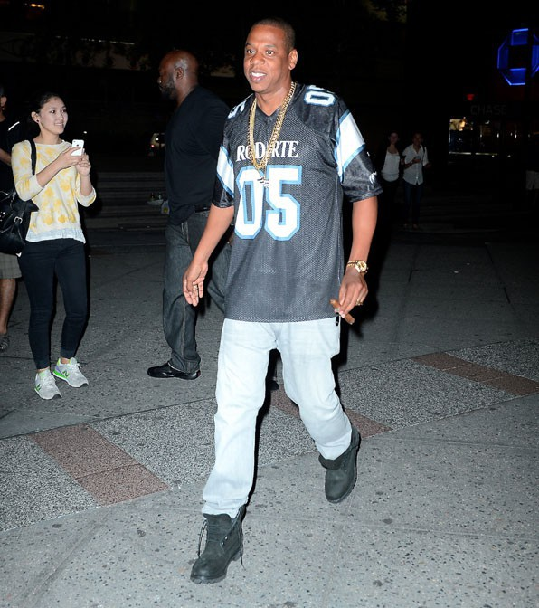 Jay-Z à New-York le 4 juin 2014