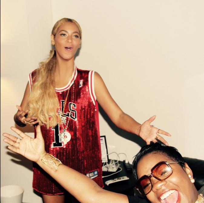 Beyoncé et une amie le 3 juin 2015