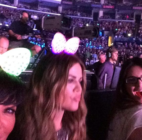 Kris Jenner, Khloé et Kendall sont venues admirer Beyoncé à L.A !