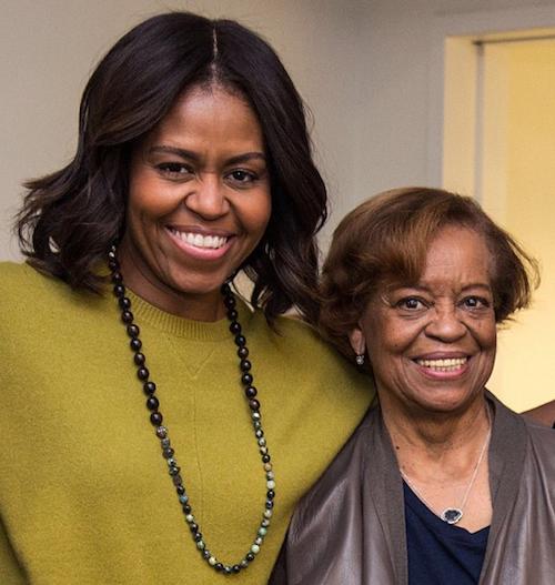 """Michelle Obama : """"Tous les jours je remercie le ciel de t'avoir comme soutien et de recevoir ton amour"""""""