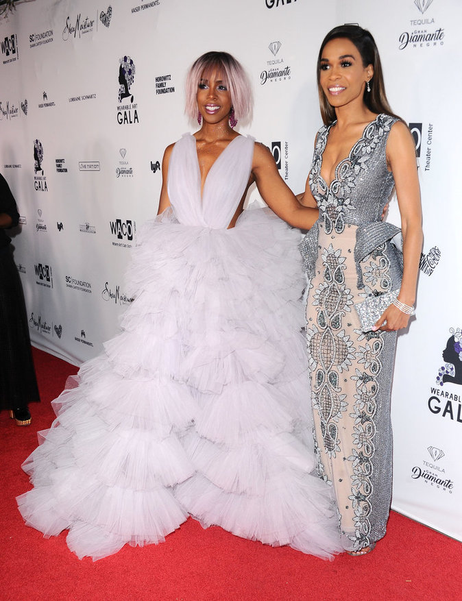 Kelly Rowland et Michelle Williams