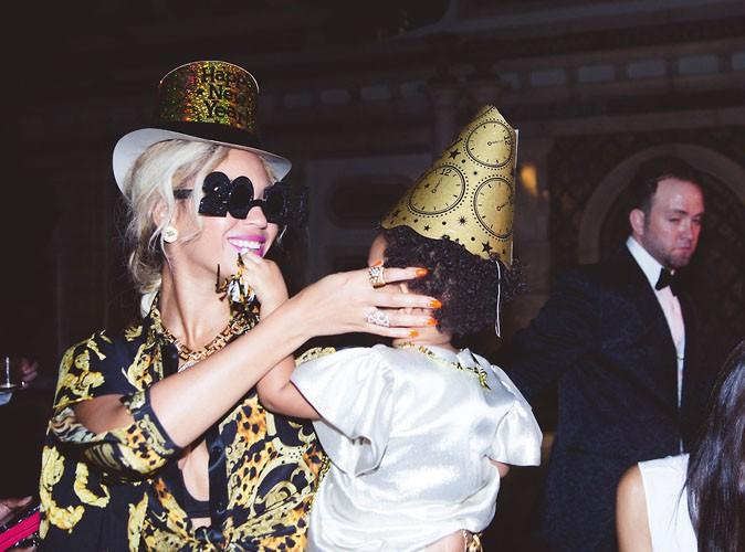 Beyoncé : l'art de la fête avec Jay-Z et Blue Ivy !