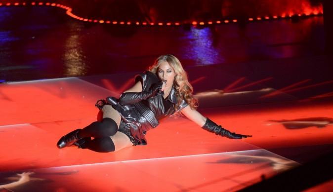 Beyonce lors de la mi-temps du Super Bowl à la Nouvelle-Orléans, le 3 février 2013.